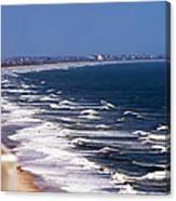 Oceanfront Landscape Canvas Print