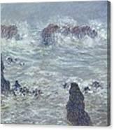 Oceans Waves Canvas Print