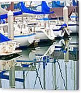Oceanside Harbor 2 Canvas Print