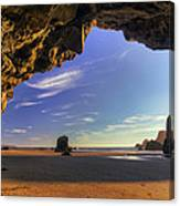 Oceanside Hideout Canvas Print