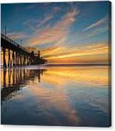 Oceanside Reflections 2 Canvas Print