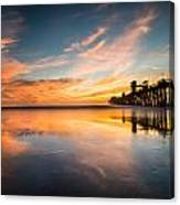 Oceanside Reflections 3 Canvas Print