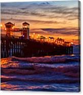 Oceanside Sunset IIi Canvas Print