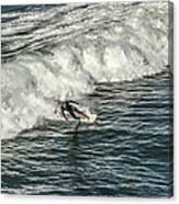 Oceanside Surfer 3 Canvas Print