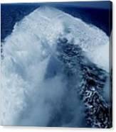 Oceon Waves Denmark Canvas Print