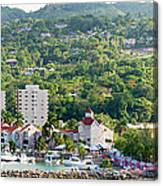 Ocho Rios Panorama Canvas Print