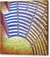 Ochre Auditorium Canvas Print