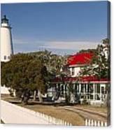 Ocracoke Island Lighthouse Img 3529 Canvas Print