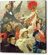 October 17th 1905 Canvas Print