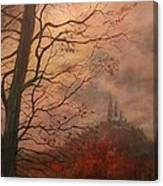 October At Holy Hill Canvas Print