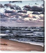 October At The Beach Saugatuck Michigan Canvas Print