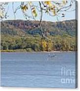October Bluffs Canvas Print