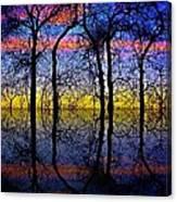October Dusk  Canvas Print