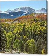October In The San Juans Canvas Print