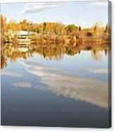 October Reflections Canvas Print