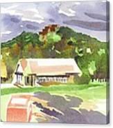 October Shadows At Fort Davidson Canvas Print