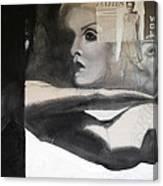 Ode To Twiggie Canvas Print