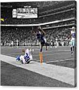 Odell Beckham Breaking The Internet Canvas Print