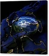 Odyssea Moon Jellyfish 1 Canvas Print