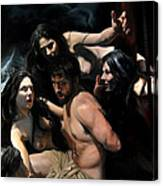 Odysseus And The Sirens Canvas Print