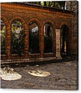 Of Courtyards And Elegant Arches  Canvas Print
