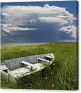 Of Land Sea And Sky Canvas Print