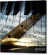 Of Music Canvas Print