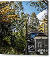 Off Road Trucker Canvas Print