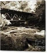 Off The Delaware River Canvas Print