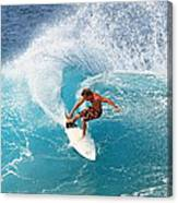 Off The Wall - North Shore Canvas Print
