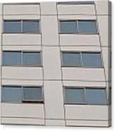 Office Building Windows Canvas Print