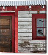 Office Door Canvas Print