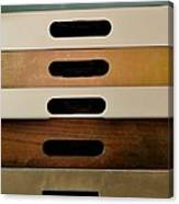 Office Drawers Canvas Print