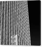 Office Tower  Montreal, Quebec, Canada Canvas Print