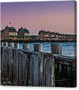 Officers' Row Canvas Print