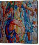 'oge Ilu' Canvas Print