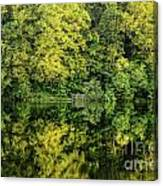 Ogle Lake Reflections 2 Canvas Print