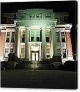 Oglebay Hall At Night Canvas Print