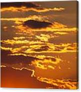 Ograzhden Mountain Sunset Canvas Print