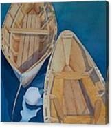 Oguniquit Boats Canvas Print