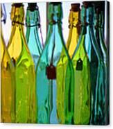 Ogunquit Bottles Canvas Print