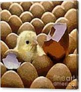 Oh No   It's Easter Canvas Print