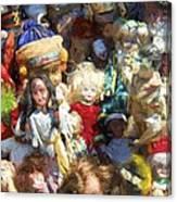 Oh Those Dolls Canvas Print