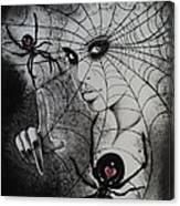 Oh What Tangled Webs We Weave Canvas Print