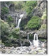 O'heo Falls Canvas Print