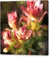 Ohia Leaves Canvas Print