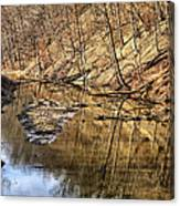 Ohio And Erie Canal Canvas Print