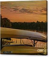 Ohio Autumn In Orange Canvas Print