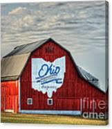 Ohio Bicentennial Barn -van Wert County Canvas Print