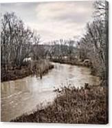 Ohio Brush Creek Canvas Print